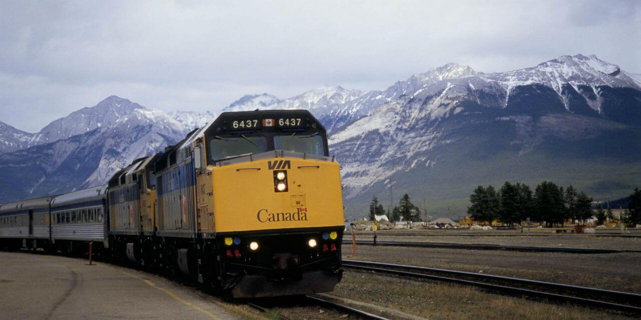 Hệ thống tàu hoả phủ sóng trên khắp đất nước Canada
